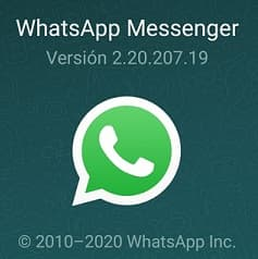 whatsapp actualizar
