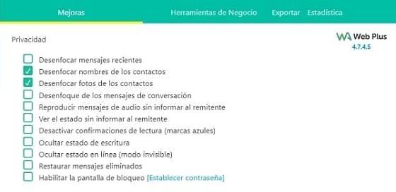 whatsapp plus web